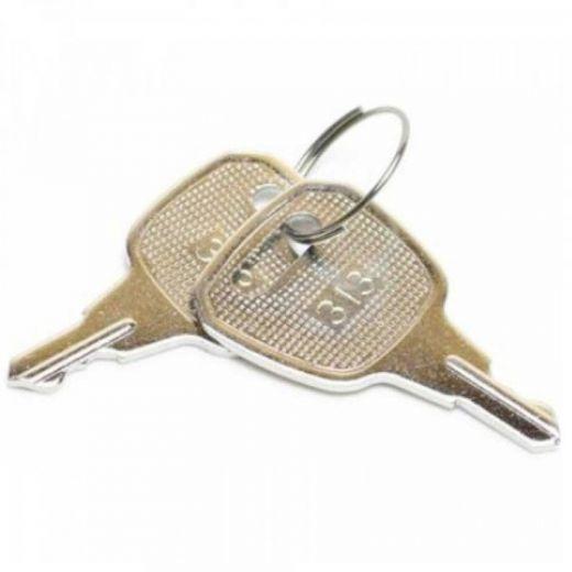 Ersatzschlüssel 2 Stk. für Kassenlade Metapace K-1 Standard Schließung