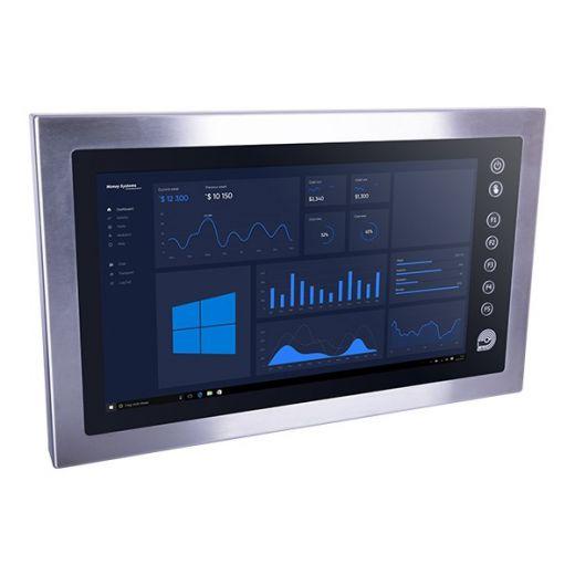 Panel-PC 21,5 Calmo 2F0M1 Edelstahl