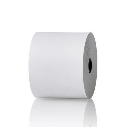Bonrollen 50 Stk. (Thermorollen) 80 mm breit | 50 m | 55 g/m² | wärmebeständig