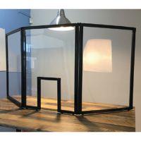 APG Tri-fold Guardiant Shield - Schutztrennwand 3 Seiten + Fenster