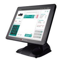 Touchkasse Colormetrics P3100 lüfterloses, robustes All-in-one Kassensystem mit zertifizierten IP-64 Display